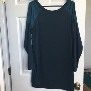 Dark teal tunic